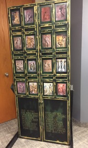 Replica of the Holy Door of Mercy created by Director of Education, Brian O'Sullivan.