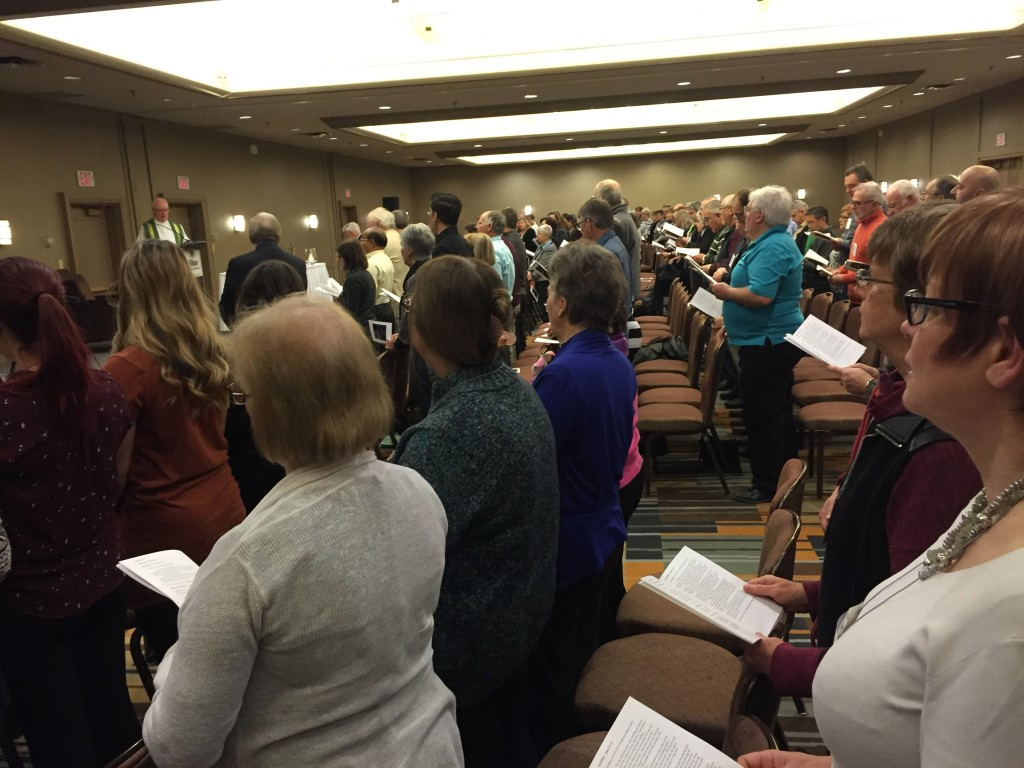 OCSTA Catholic Trustees Worshiping