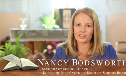 Faith in Our Future – Catholic Teacher Profile – Nancy Bodsworth