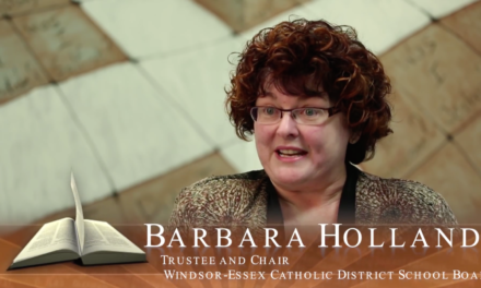 Faith in Our Future – Ontario's Catholic Schools: Barbara Holland, School Trustee