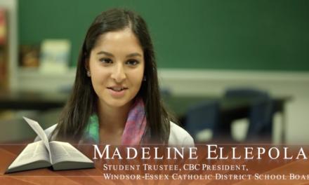Faith in Our Future – Ontario's Catholic Schools: Madeline Ellapola, Student Trustee