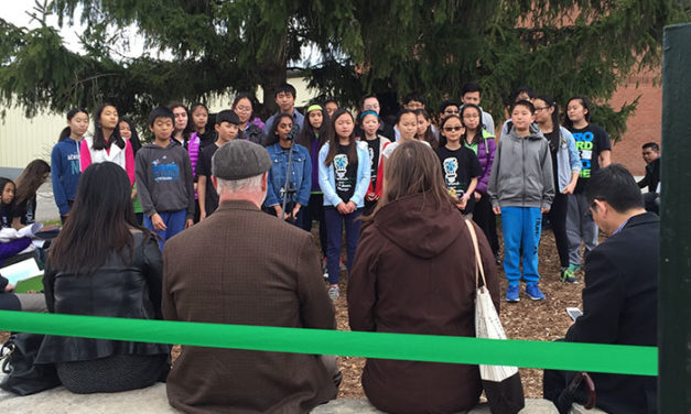 Blessing of New Outdoor Classroom – York CDSB