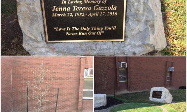 Memorial Garden for Jenna Gazzola