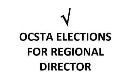 OCSTA Newswire – April 15, 2019