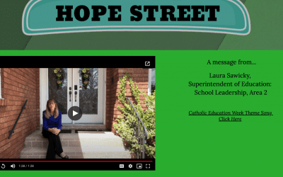 Hope Street Launches Catholic Education Week at YCDSB