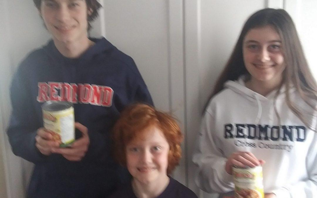 Toronto CDSB Students' Food Drive Efforts