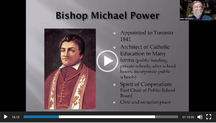Bishop Michael Power - Dr. Mark McGowan