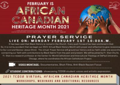 Toronto Catholic Black History Month Image
