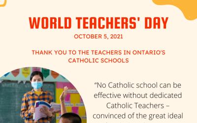 World Teachers' Day – 2021